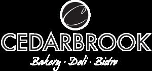CedarBrook Bakery Deli & Bistro Logo